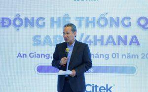 Ông Huỳnh Văn Thòn – chủ tịch HĐQT Tập đoàn Lộc Trời
