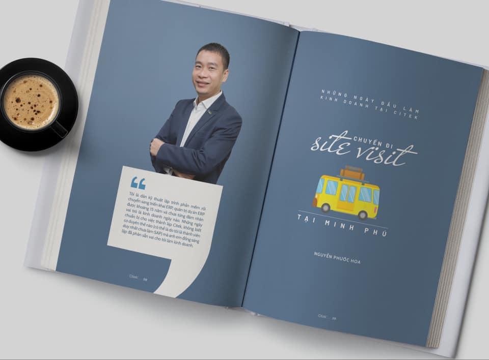 """""""Dấu ấn Citek 5 năm"""": cuốn hồi ký với 100 bài viết hướng tới kỷ niệm 5 năm thành lập Citek"""